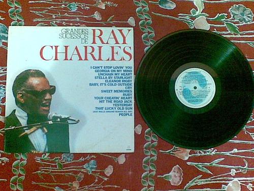 Lp Ray Charles - Grandes Sucessos