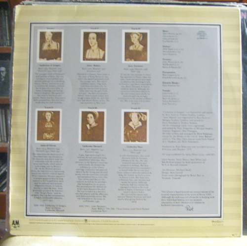 Lp Rick Wakeman - The Six Wives Of Henry Viii