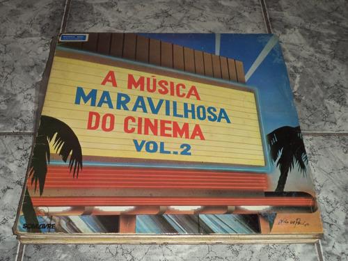Lp Vinil A Música Maravilhosa Do Cinema Vol 2