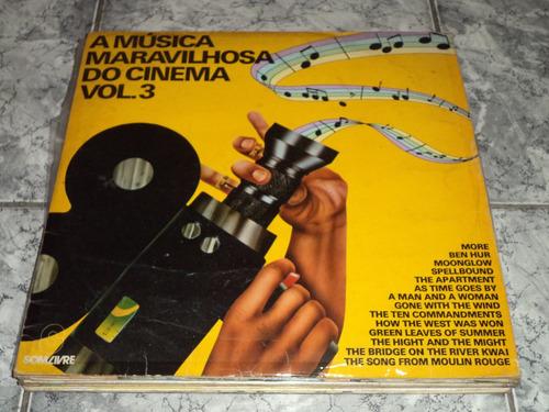Lp Vinil A Música Maravilhosa Do Cinema Vol 3
