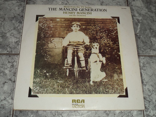 Lp Vinil - Henry Mancini - The Mancini Generation