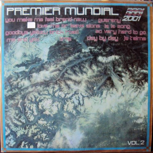 Lp Vinil - Premier Mundial 2001 - Vol.2