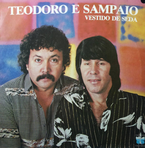 Lp Vinil - Teodoro E Sampaio - Vestido De Seda