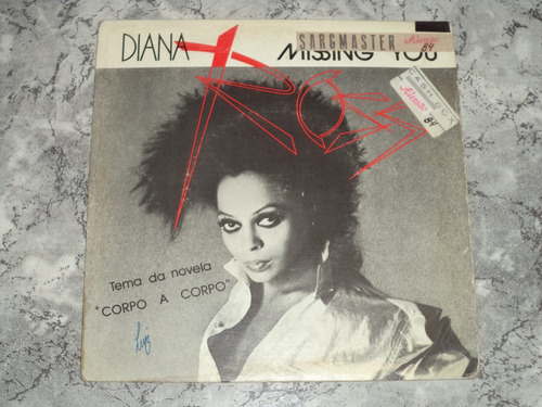 Lp/compacto - Diana Ross - Missing You