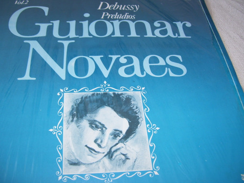 Lp,debussy: Prelúdios, Por Guiomar Novaes; Piano