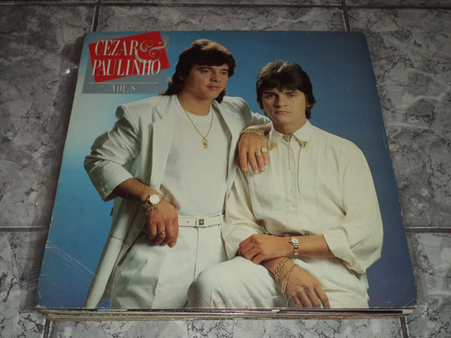 Lp/disco - Cezar & Paulino - Vol. 8