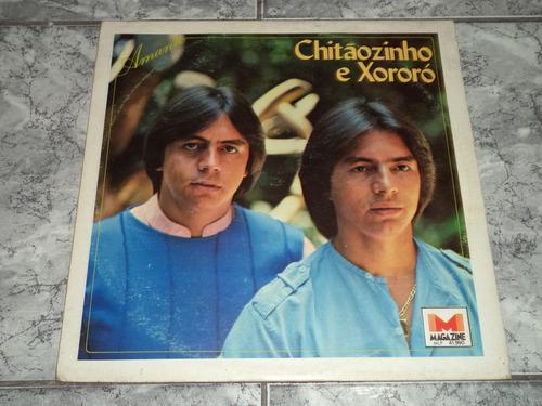 Lp/disco - Chitãozinho E Xororó - Amante