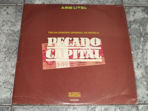 Lp/disco - Novela Pecado Capital 1975 - Nacional