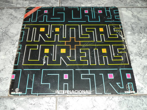 Lp/disco - Novela Transas E Caretas - Internacional