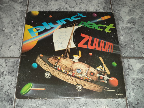 Lp/disco - Plunct Plact Zuuum + Encarte