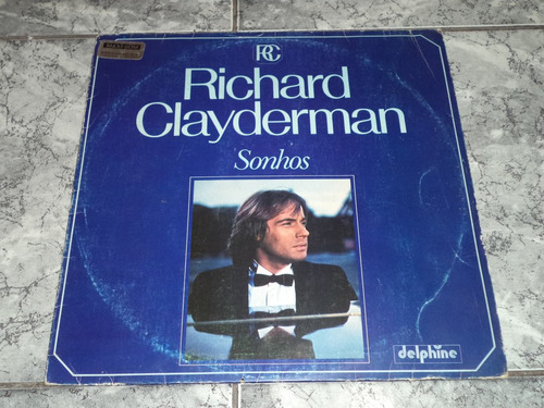 Lp/disco - Richard Clayderman - Sonhos