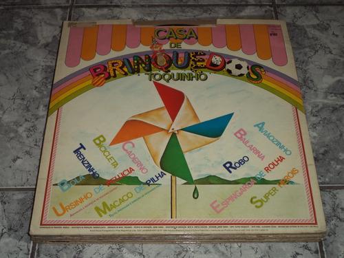 Lp/disco - Toquinho - Casa De Brinquedos