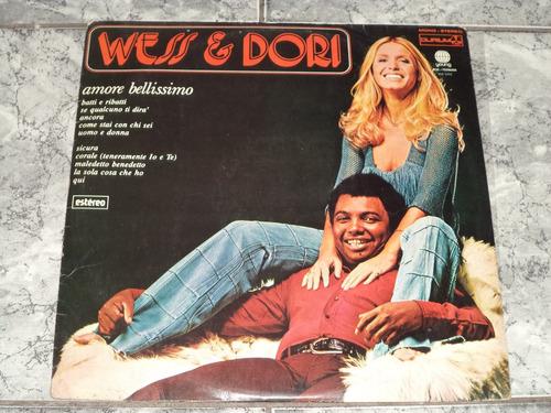 Lp/disco - Wess & Dori Ghezzi - Amore Bellissimo