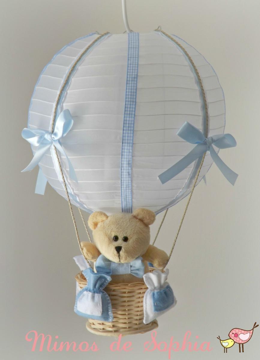 Luminária Lustre Balão Para Quarto Bebê Ou Infantil Urso  ~ Ver Lustre Para Quarto