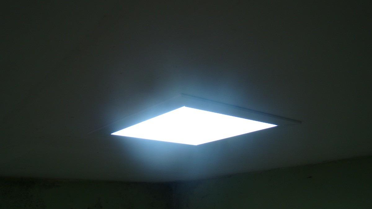 Luminária Quadrada De Embutir Branca P Forro De Gesso R$ 50,00 no MercadoLivre
