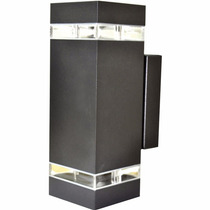 4 X Arandela Externo/interno Alumínio 2 Fachos Led 12 W