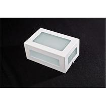 Arandela Retangular Kit 8 Peças 5 Vidros Uso Externo/interno