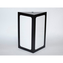 Arandela Triangular Preta Kit16pecas Uso Externo/interno