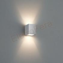 Kit 5 Arandela Parede Uso Externo Interno Dois Feixes Luz