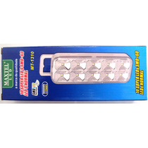 Lanterna De Emergência 10 Leds Smd = 60 Leds Normal