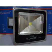 Refletor Holofote Led 50w Slim - Branco Frio 220v Ip66