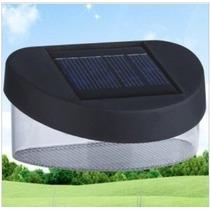 Luz Solar Com 8 Leds Parede Super Branca Linda Promoção