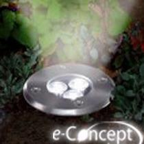 Lampada Solar P/ Deck E Piso P/ Embutir- Led Concepthomesol