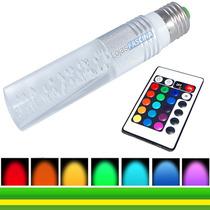 Lampada Led Rgb Gel 16 Cores Efeitos Strobe Fade - Bivolt