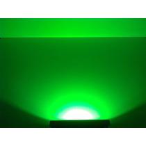 Refletor Holofote Led 10w Slim Bivolt Verde Imperdível..!