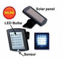 Holofote Refletor Luminária Solar 36 Led Luz Branca .etaqui
