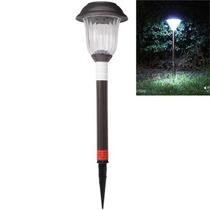 Lâmpada Externa A Energia Solar P Jardim Em Aço Inoxidável