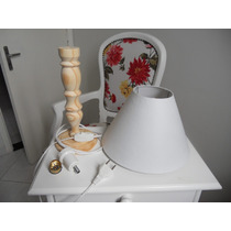 Kit Abajur = Cúpula + Base + Parte Elétrica ( Rabicho )
