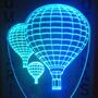 Luminária De Tomada Mini Automática, Balões Tripulados 3d *