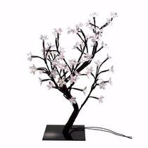 Luminaria Árvore Flores De Luz Cerejeira Leds Branco