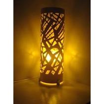 Luminária Artesanal Em Pvc - Decoração