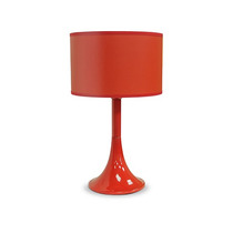 Abajur Luminária Cone Plástico Moderno Sala Ø15 - Gda