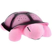 Luminária Projetor De Estrelas Star Guide Tartaruga Rosa