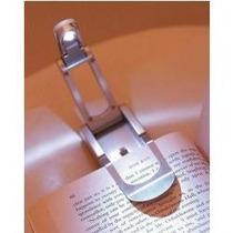 Luminaria Led Com Clip Para Leitura Livro Revista Lanterna