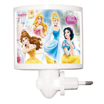 Mini Abajur Led Princesas Disney Original Startec
