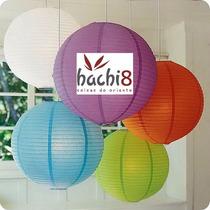 3 Luminária Japonesa Chinesa Oriental Abajur Lanterna Hachi8