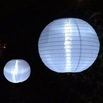 Luminária Nylon Japonesa 30cm Branca Chinesa Oriental Hachi8