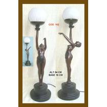 Linda Luminaria Dama De Petit Bronze Cod 05