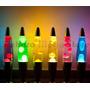 Luminária / Abajur - Lava Lamp / Lava Motion - Vermelha 41cm