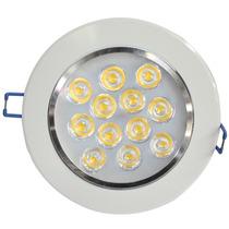 Kit C/ 50 Lampada Led 12w P/ Forro Gesso Embutir