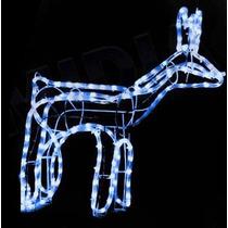 Rena De Led Azul 196 Lampadas Iluminada Decoracao De Natal