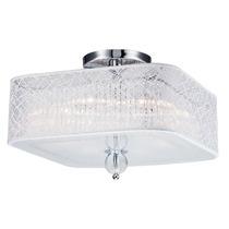 Lustre Plafon De De Cristal Llum Bronzearte Lace 4 Luzes E27