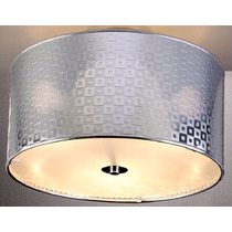 Luminária Lustre Plafon P/ Sala Bronzearte Metil 3 Luzes E27