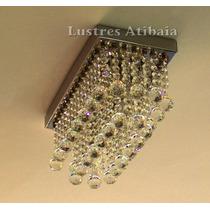 Lustre Em Cristal Egípcio Asfour Modelo Galis