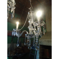 Lustre De Cristal De 3,4,5,6 Ou 8 Braços. Cristais Lapidados