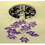 Lustre Infantil Floral Em Cristal Egípcio E Acrílico